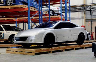 Étude Peugeot 407 coupé Pininfarina Show car sold without vehicle registration. We...