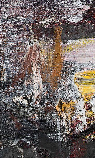 WANG YANCHENG (né en 1960) La fonte des neiges , 2006 Huile sur toile, signée, datée...