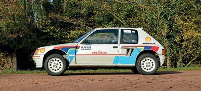 1985Peugeot 205Turbo 16