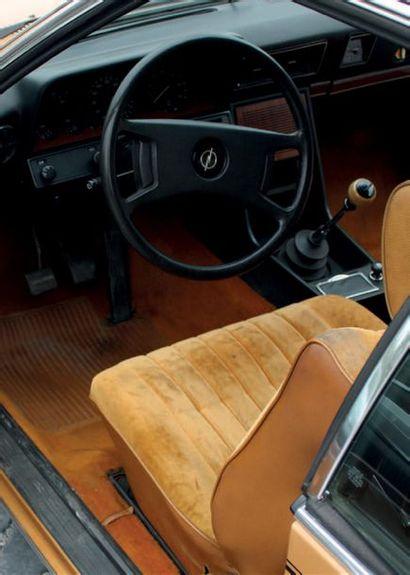 1976 Opel Commodore 2.8GS/E Française d'origine Mécanique très plaisante Historique...