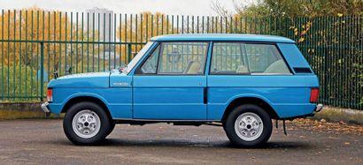 1972 Range Rover CLASSIC« SUFFIX A »