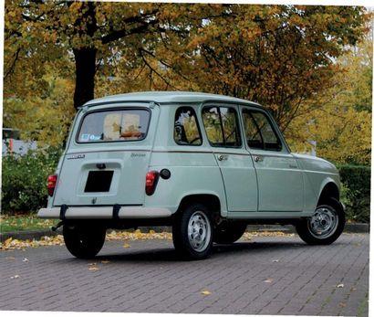1987 Renault4 TL Savane Seulement 52 000 kilomètres Parfait état d'origine Rare...