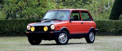 1983 Autobianchi ABARTH Well preserved car VI Series with 5 speed gearbox Recently...