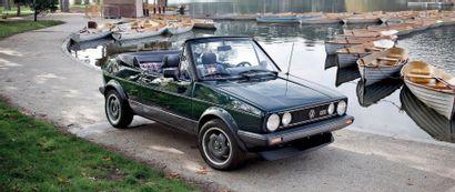 1982Volkswagen Golf GTI Cabriolet Bieber
