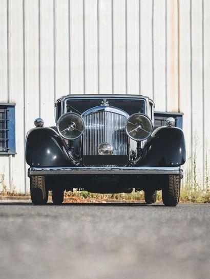 1934 Bentley DERBY 3½ Litre Park Ward Restauration de grande qualité Historique...