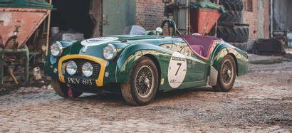 1955 Triumph TR2 « PKV 693 »