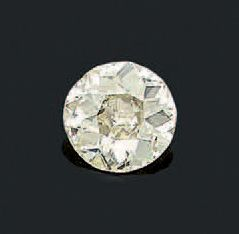 DIAMANT Taille ancienne. Poids: 3.30 carats...