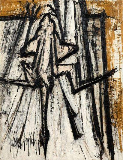 Bernard BUFFET (1928-1999) Le poulet, 1958 Huile sur toile, signée et datée en bas à...
