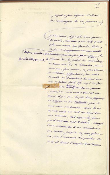BARRÈS Maurice (1862-1923) écrivain