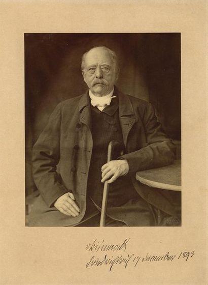 BISMARCK Otto von (1815-1898) le grand homme d'État prussien