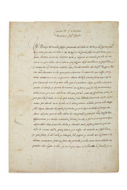 CHARLES QUINT (1500-1558) Roi des Espagnes et Empereur du Saint-Empire