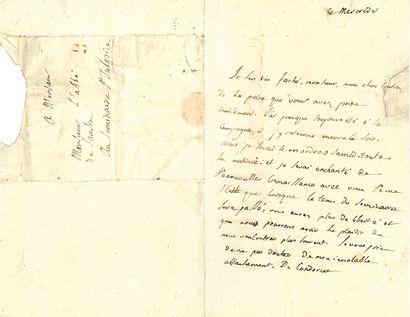 CONDORCET Jean-Antoine-Nicolas Caritat, marquis de (1743-1794) mathématicien, philosophe et économiste ; député, conventionnel (Aisne), il fut arrêté comme Girondin et s'empoisonna