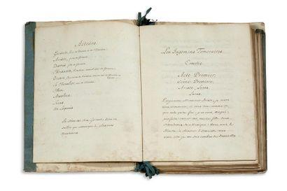 COYPEL Charles-Antoine (1694-1752) peintre, graveur, et auteur dramatique