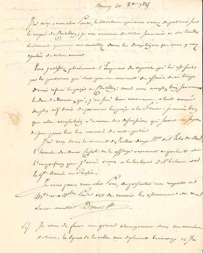 DROUOT Antoine (1774-1847) général, compagnon d'exil de Napoléon à l'île d'Elbe