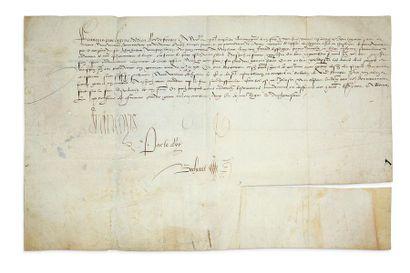 FRANÇOIS Ier (1494-1547) Roi de France