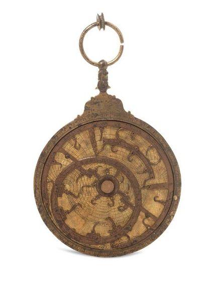 Exceptionnel astrolabe islamique maghrébin...