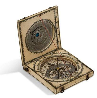 ~Bon cadran solaire analemnatique rectangulaire...