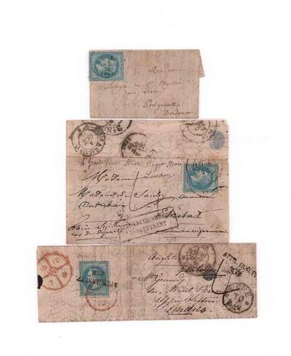 GREAT BRITAIN 30 SEPTEMBER 1870 20c prize-winner...