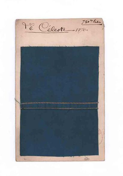 30 SEPTEMBER 1870 Piece of canvas from the...