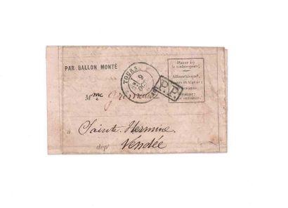 9 OCTOBER 1870 PP framed claw on formula...