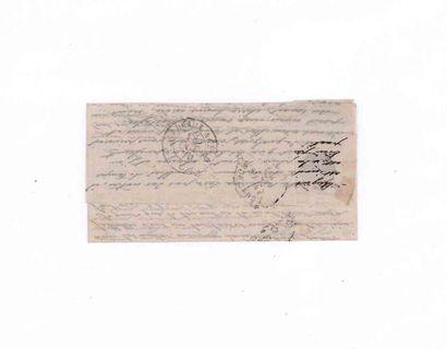 12 OCTOBRE 1870 20c lauré àbl. GC 978 (Chaumont en Bassigny) sur Lm du 12 octobre...