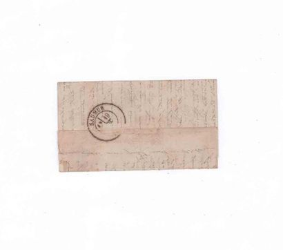 12 OCTOBRE 1870 20c lauré obl. GC 978 (Chaumont en Bassigny) sur Lm datée jeudi...