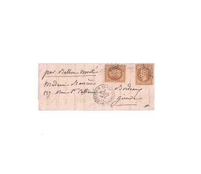 25 OCTOBER 1870 10c prize-winner two copies...