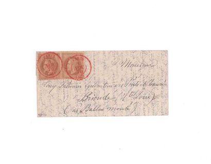 3 NOVEMBER 1870 10c prize-winner in pairs...