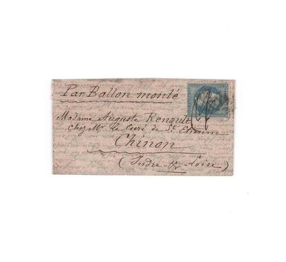 4 NOVEMBER 1870 20c laureate obl. GC 1017...