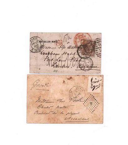 GREAT BRITAIN - 15 NOVEMBER 1870 30c prize-winner...