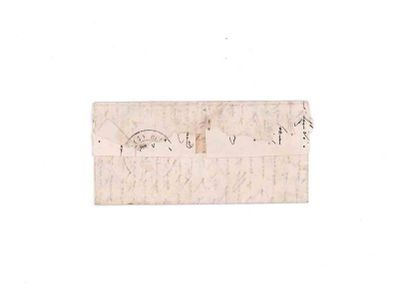 21 NOVEMBRE 1870 20c lauré obl. GC 2145 (Lyon) n'appartenant pas à la lettre sur...