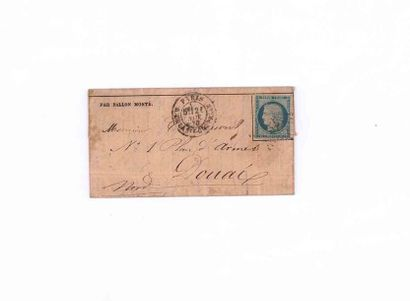 21 NOVEMBER 1870 20c Siège obl. étoile 32...