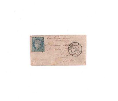 6 DECEMBRE 1870 20c Siège obl. étoile muette...
