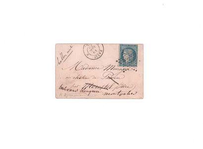 15 DECEMBRE 1870 20c Siège obl. étoile pleine...
