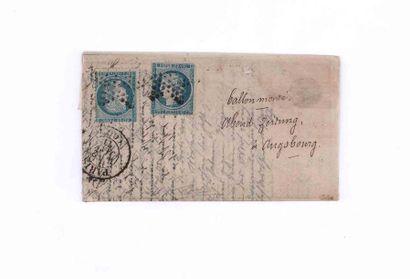 DUCHE DE BADE - 2 JANVIER 1871 20c Siège...