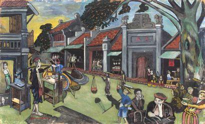 SUZANNE BONNAL DE NOREUIL (1888-C. 1960), DITE NGUYEN VIET CHU (XXE SIÈCLE) OU MIRANDOLINE