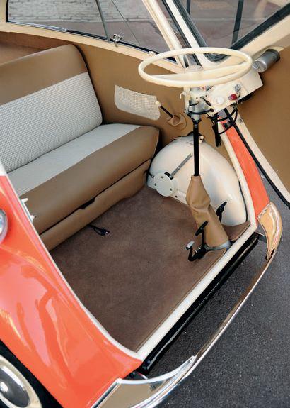 1961 BMW Isetta Concept génial Rare à la vente Intégralement restaurée Carte grise...