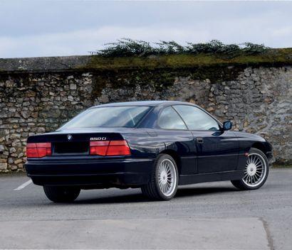 1994 BMW 850 Ci 16 402 exemplaires Historique suivi Design sans égal Carte grise...