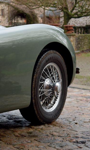 1954 Jaguar XK 120 SE Fixed Head Coupé Restauration intégrale chez Guy Broad Mécanique...