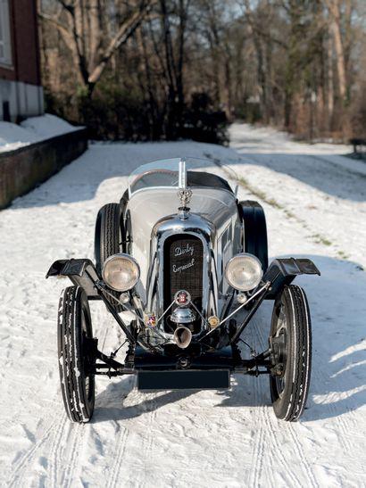 1926 Derby 9 HP Sport Production totale ne dépassant pas les 300 exemplaires Moteur...