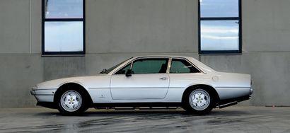 1986 Ferrari 412 GT Dossier historique très fourni Très belle présentation Un superbe...