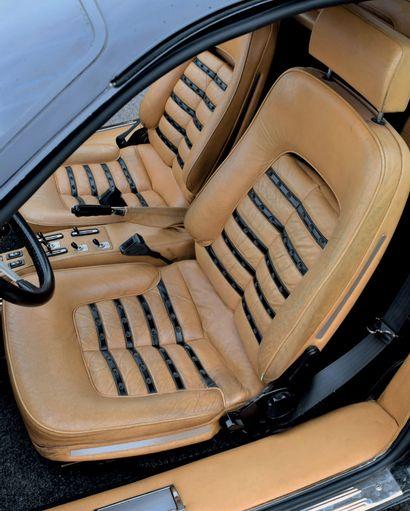 1980 Ferrari 512 BB 3e main, même propriétaire depuis 35 ans Ex-Pozzi puis Auvergne...
