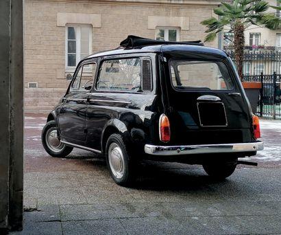 1973 Fiat 500 Giardiniera Révision récente par l'Atelier 500 Restauration ancienne...