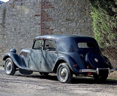 1950 Citroën TRACTION NORMALE 11 Deuxième main depuis 1982 Rare modèle Belge, 100%...