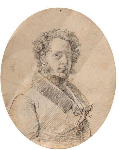 ATTRIBUÉ À FRANÇOIS GÉRARD,<br/>DIT LE BARON GÉRARD ROME, 1770/1837, PARIS