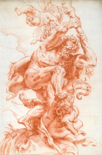 ATTRIBUÉ À CHRISTOFFEL JEGHER ANVERS, 1596 - 1652