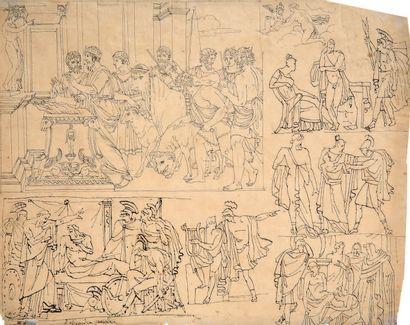 ÉCOLE FRANÇAISE NÉOCLASSIQUE, VERS 1800