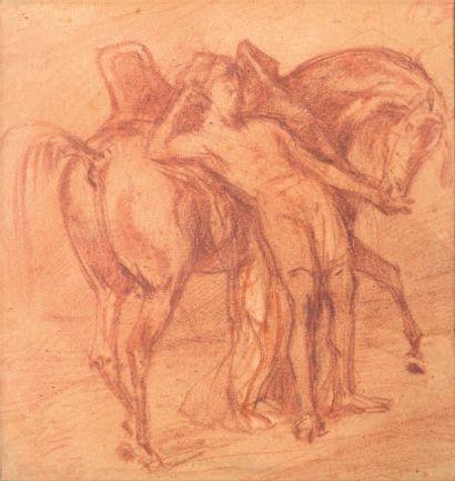 ATTRIBUÉ À EUGÈNE FROMENTIN LA ROCHELLE, 1820/1876