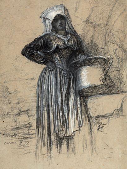 ERNEST HÉBERT GRENOBLE, 1817 - 1908, LA TRONCHE