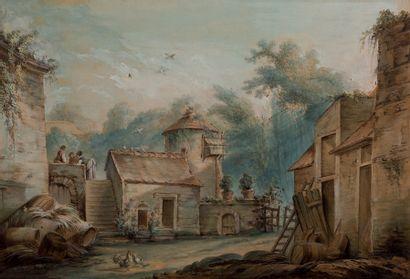 Jean-Baptiste HUET Paris, 1745 - 1811